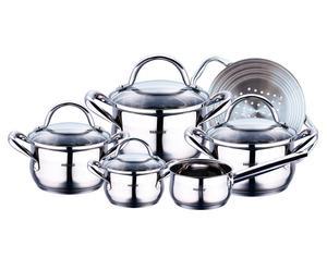 10-delige set kookpannen Gourmet Line