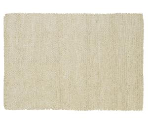 Handgeweven tapijt Tashen, wit, 200 x 300 cm
