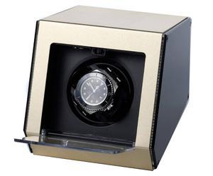 Horloge-opwinder Ferrum Style voor 1 horloge, champagne-metallic