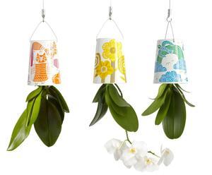 Set van 3 Bloempotten Sky Planter, keramiek, mini, flora&fauna
