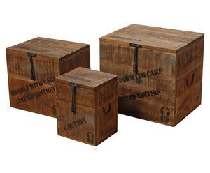 Set van 3 kisten PALOMA