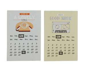 Set van 2 wandkalenders Alyssa