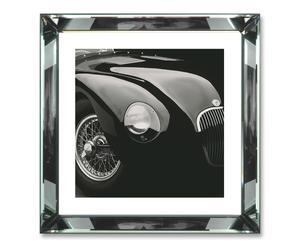 Ingelijste fotoprint Jaguar C-Type, 58 x 58 cm