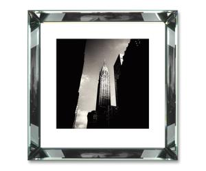 Ingelijste fotoprint Chrysler Building, 47 x 47 cm