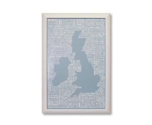 Kunstdruk Britannia 1, 40 x 60 cm