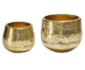 Decoratieve vazen-Set Birillo, 2-delig