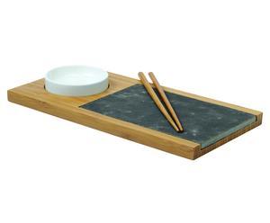 Sushi Set MIKOYA, 4 delig, lengte 32 cm