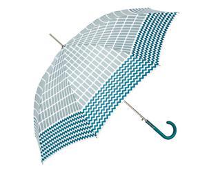 Automatische paraplu Marlene, blauw