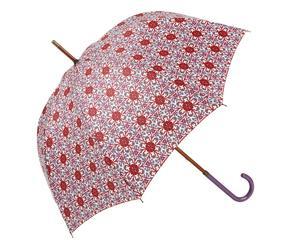 Paraplu Marylin, rood/paars