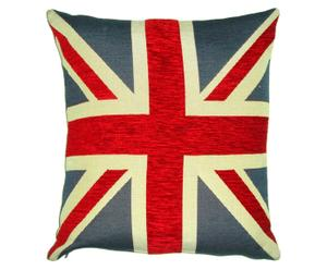 Kussen UK Flag, rood/wit/blauw, 45 x 45 cm