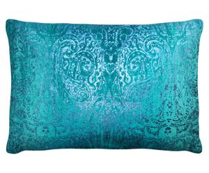 Kussen VELVET, turquoise, 45 x 65 cm