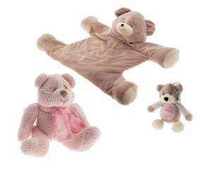 Set van 3 teddyberen HUMPHREY
