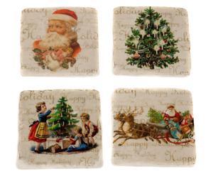 Untersetzer-Set Christmas, 4-tlg.