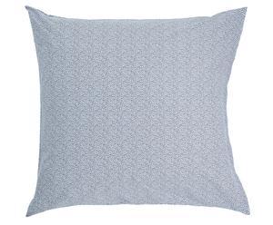 Kussensloop MAUI, 80 x 80 cm, blauwgrijs/wit