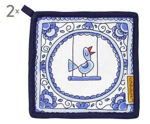 Set van 2 pannenlappen Birdy