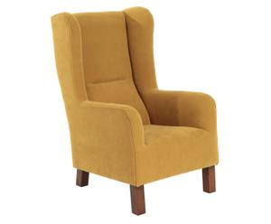 Fauteuil Branwell, mosterd
