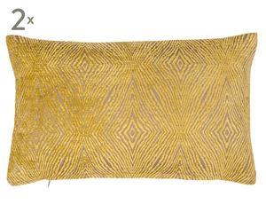 Set van 2 kussenslopen IONA CITRUS, 30 x 50 cm