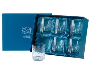 Set van 6 glazen Sapphire, kristalglas