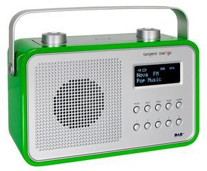 Draagbare Radio DAB2go, groen