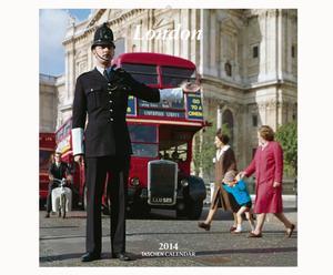Wandkalender London 30 x 30 cm