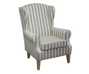 Oorfauteuil Stripes