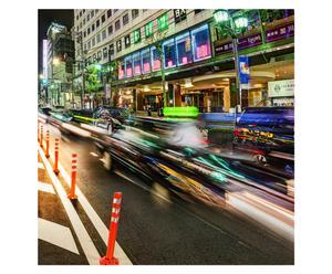 Digitale print Street II, 90 x 90 cm