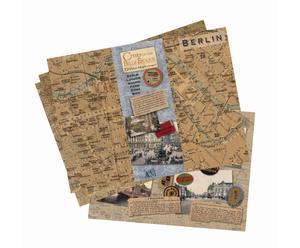 Set stadskaarten Europe Place Maps, 12-delig