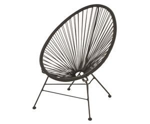 Kinderstoel Leo, zwart, B 56 cm