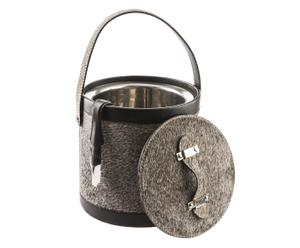 IJskoeler Chamonix, grijs, H 22 cm