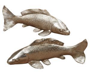 Set Koi karpers Piscari, 2-delig, B 25 cm