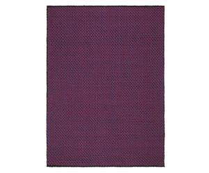 Handgeweven tapijt Weave, lila, 170 x 230 cm