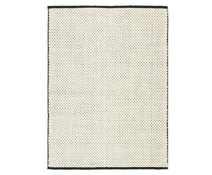 Handgeweven tapijt Weave, beige, 200 x 280 cm