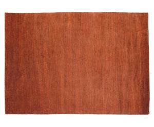 Handgeknoopt tapijt Himali, bruin/oranje, 170 x 240 cm