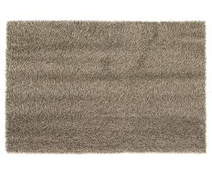 Handgeweven tapijt Glory, beige/bruin, 85 x 160 cm