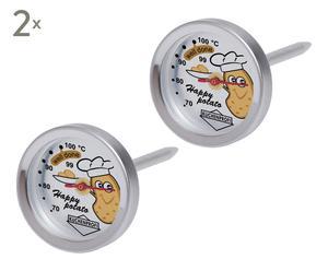 Aardappelthermometers Clara, 4 stuks