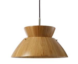 Hanglamp BAMBOO, bruin, diameter 55 cm