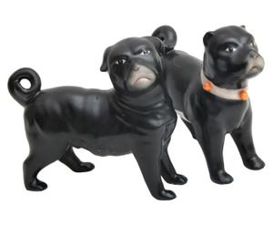 Set van 2 decoratieve honden Agilano