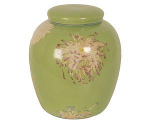 Vaas met deksel Kim, H 24 cm