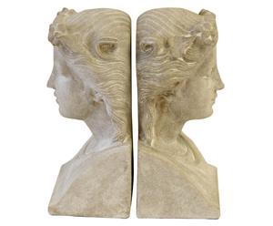 Boekensteunen Maya, 2 stuks, H 22 cm