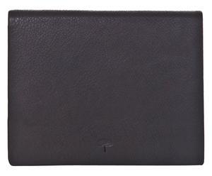 Leren portemonnee Bob, zwart, B 11 cm