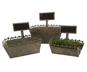 3-delige plantenbakkenset Undis