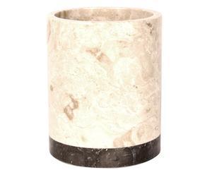 Prullenbakje Bonded Marble, H 11 cm