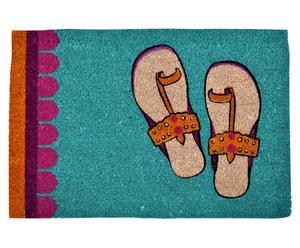 Vloermat Jalebi Funky Slippers, 60 x 40 cm