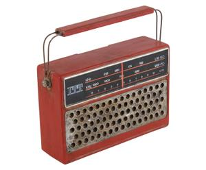 Deco radio Paul, B 19 cm