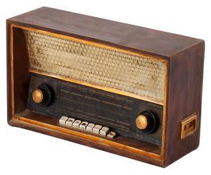 Deco radio Miriam, B 17 cm