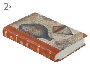 Notitieboekje Mongolfiere Rouge, 2 stuks, formaat A6