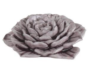Deco bloem Flora, lila, diameter 11 cm