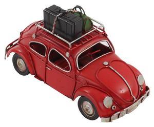 Decoratieve auto Beatle, rood/zwart, breedte 15 cm