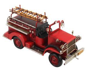 Decoratieve brandweerauto Fabian, b 24 cm