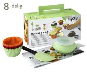 Muffinbakvorm-Set Kids, 8-delig